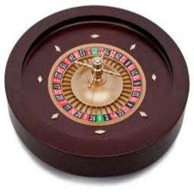 20 inch solid timber roulette wheel