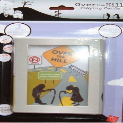 Over the Hill Playing Cards